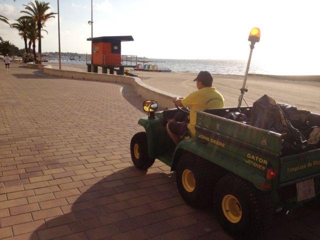 Servicios Públicos refuerza con 22 trabajadores y más maquinaria  la limpieza viaria y de playas durante el verano - 1, Foto 1