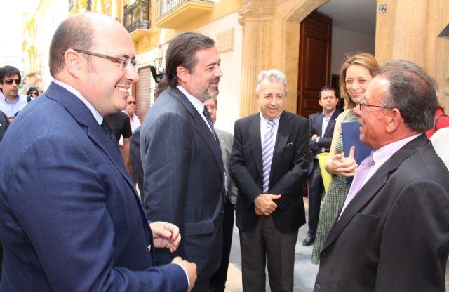 Federico Ramos firma un convenio con los regantes de Lorca y Puerto Lumbreras - 1, Foto 1