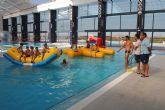 El 'Centro Deportivo Las Torres' cierra sus cursos de natación 2012-13 con una gran fiesta acuática