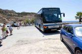 El lunes se pone en marcha el bus playa a Cala Cortina y El Portús
