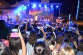Más de 3.000 jóvenes disfrutaron concierto de Rasel en San Pedro del Pinatar