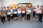 Se clausura el programa municipal de gimnasia de personas mayores en El Paretón-Cantareros