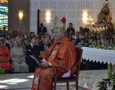 El obispo Lorca Planes preside en San Pedro la ordenación de tres diáconos y dos sacerdotes