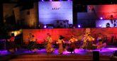 El Festival Flamenco congregó a más de 500 personas en el entorno del Castillo de Nogalte con su 'Patio de Colores'