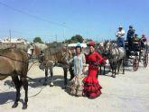 El X encuentro de carruajes Villa de San Pedro reúne a aficionados del enganche de toda la Región