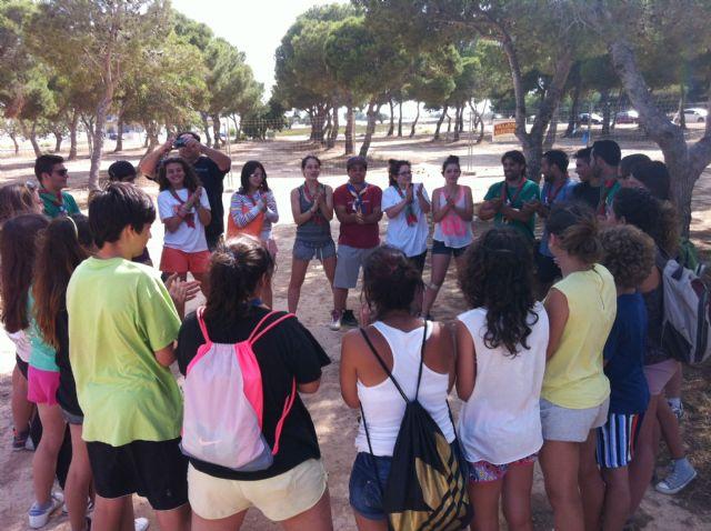Los Scouts de la Región de Murcia celebraron una acampada en San Blas durante el pasado fin de semana - 2, Foto 2