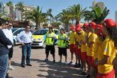 Más de medio centenar de personas velarán por la seguridad y salvamento en playas  durante el verano