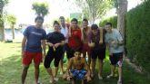 Los jóvenes del 'SJ.3' despiden el curso con una acampada de 2 días llenos de actividad en el Polideportivo