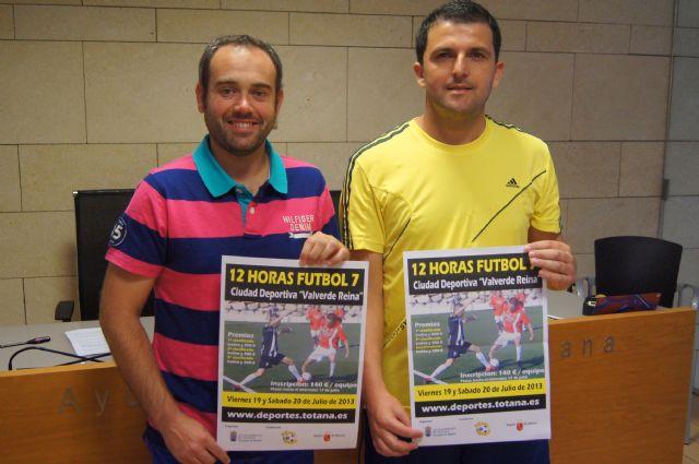 Las 12 horas de fútbol-7 se celebrarán los días 19 y 20 de julio en la ciudad deportiva valverde reina - 1, Foto 1