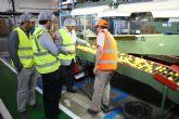 El alcalde de Torre-Pacheco visita las instalaciones de G´s España en Torre-Pacheco