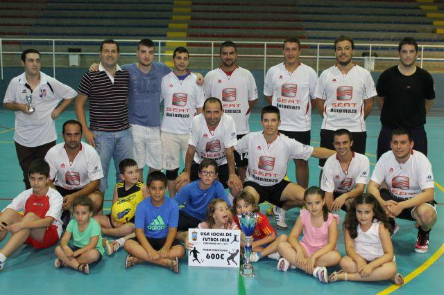 Automaza S.A. revalida su título de campeón de la liga local de fútbol sala - 1, Foto 1