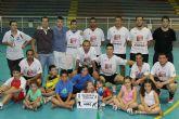 'Automaza S.A.' revalida su título de campeón de la liga local de fútbol sala