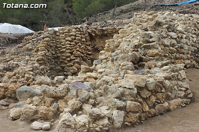 120.000 euros to strengthen and preserve the remains of the site of La Bastida in Totana