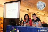 La historiadora totanera Mar�a Mart�nez ofreci� la conferencia sobre el protagonismo que tuvo Totana en el proceso de islamizaci�n del sureste español