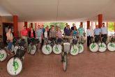 Profesores de toda Europa se pasean por Alhama en bicicleta a trav�s de un proyecto del IES Miguel Hern�ndez