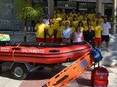 Un dispositivo de 36 socorristas vigila este verano las ocho playas de San Pedro del Pinatar