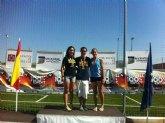 Medallas con firma femenina en el Nacional Junior