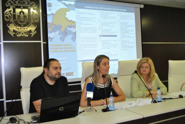 El curso sobre Patrimonio cultural inaugura los cursos de la Universidad Internacional del Mar en la sede  de San Javier - 1, Foto 1