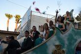 Las carrozas cierran las fiestas patronales de San Pedro del Pinatar 2013