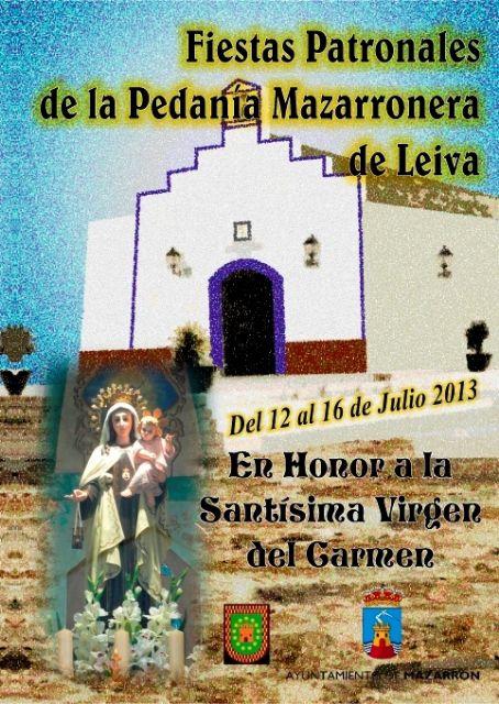 Leiva inicia este viernes 12 sus fiestas en honor a la Virgen del Carmen, Foto 3
