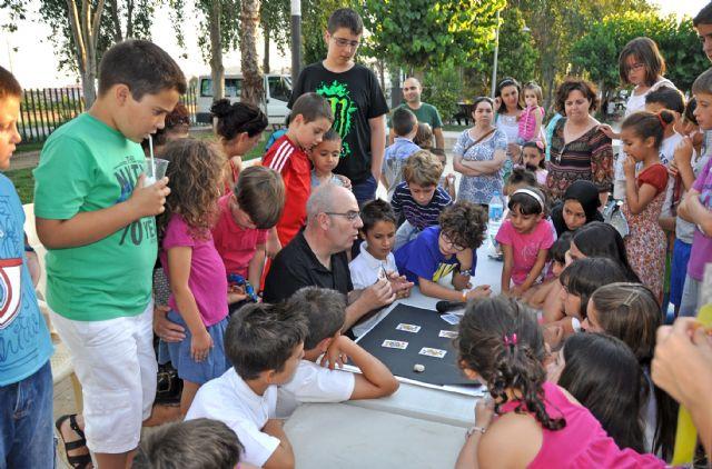 Puerto Lumbreras estrena Nogalte Mágico con talleres y actuaciones de magia - 1, Foto 1