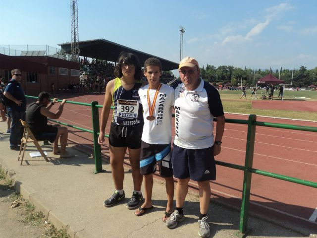 Ismael Belhaki medalla de bronce en Campeonato de España Cadete, Foto 2