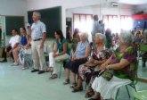 Los usuarios del Centro de Mayores de San Javier celebran una Jornada Intergeneracional