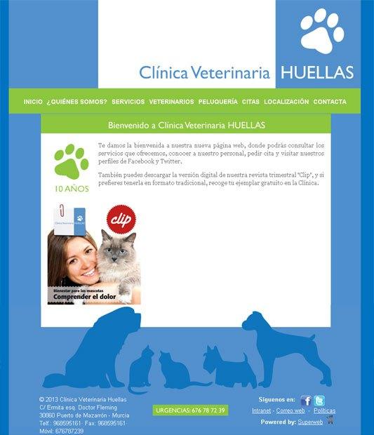 <a href=http://www.clinicahuellas.es target=_blank>www.clinicahuellas.es</a>, Foto 1