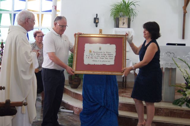"""The city of Totana delivers the title of Honorary Citizen Crespo Jose Giner, """"Father Lucas"""""""