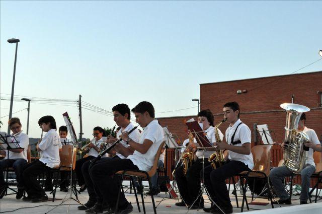 La banda-escuela Maestro Eugenio Calderón participa en su II encuentro de bandas musicales - 2, Foto 2