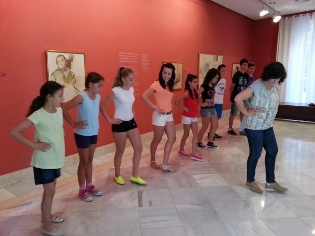 El Museo Ramón Gaya celebra un curso de baile para los más pequeños - 1, Foto 1