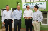 Alcaldes de Puerto Lumbreras, Lorca, Huércal Overa y Vélez Rubio panifican una estrategia común para la conservación del paraje natural del Cabezo de la Jara