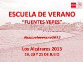Los Alcázares acogerá la VI Escuela de Verano de Juventudes Socialistas de la Región de Murcia