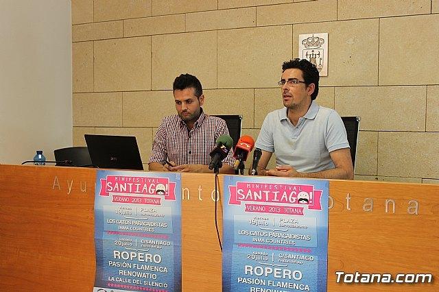 El III Minifestival Santia-GO! de las fiestas de Santiago Apóstol congregará a varios grupos locales el viernes 19 y el sábado 20 - 1, Foto 1