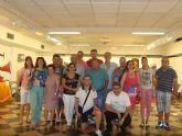 Los usuarios del Servicio de Apoyo Psicosocial visitan la exposición 'Huellas del pasado'