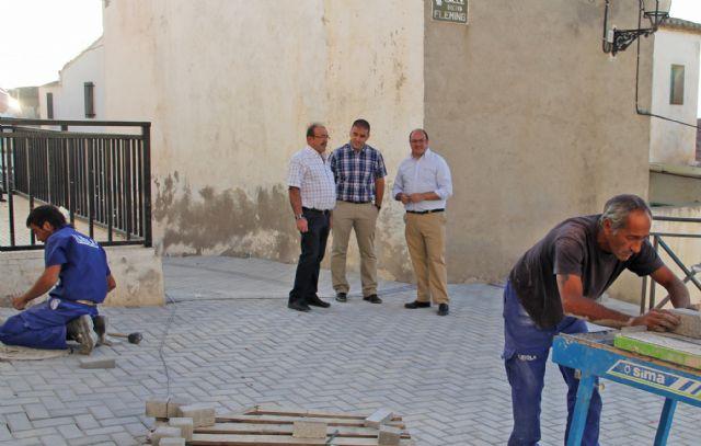 Obras en calles del casco antiguo y en los viales de acceso al Castillo de Nogalte - 1, Foto 1