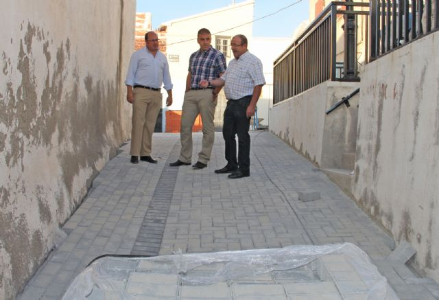 Obras en calles del casco antiguo y en los viales de acceso al Castillo de Nogalte - 2, Foto 2