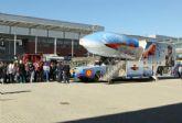 El público podrá experimentar las acrobacias aéreas de la Patrulla Águila en el Emulador de Vuelo que estará en Santiago de la Ribera los días 24 y 25 de julio