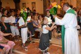 Lo Pagán honra a la Virgen del Carmen con una ofrenda de flores y frutos