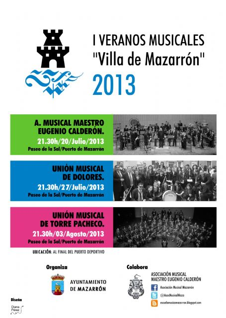 Nacen los I veranos musicales Villa de Mazarrón - 1, Foto 1