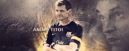 The Rock Barcelona Totana strongly supports Tito Vilanova