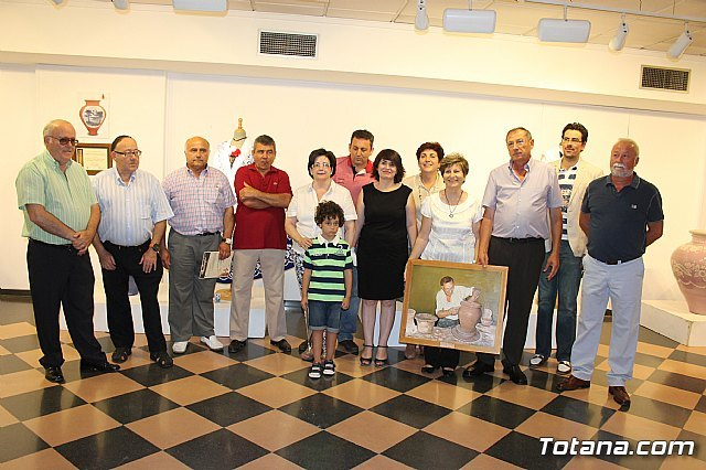 Los alfareros de Totana muestran en la exposición Entre bordados y barro - 1, Foto 1