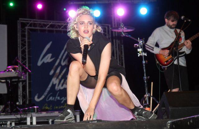Sinéad O´Connor hizo vibrar al público de Cartagena en su único concierto en España - 4, Foto 4