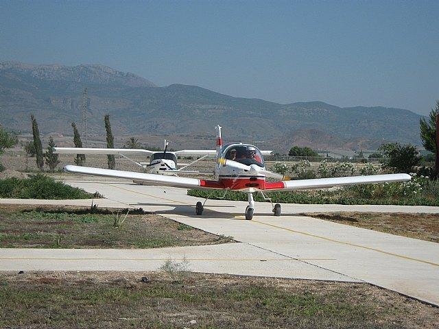 Aviones en la parrilla salida, Foto 1