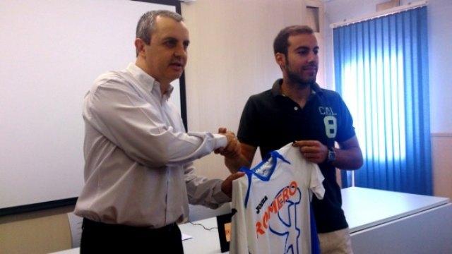 El totanero Enrique Cánovas Ambit, primer fichaje de la nueva temporada del Plásticos Romero Cartagena - 1, Foto 1