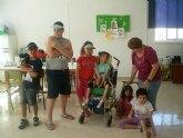 Niños con discapacidad intelectual disfrutan del verano en las colonias de PADISITO