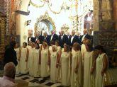 Gran aceptación del concierto que protagonizó la coral 'Augusta Emérita' de la ciudad hermana de Mérida, en la Santa