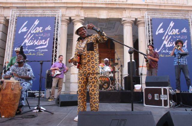 Ghana y Brasil también suenan en La Mar de Músicas - 1, Foto 1
