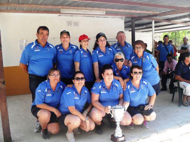 El equipo femenino del Club de Petanca Puerto de Mazarrón se alza campeón de la Región de Murcia - 1, Foto 1