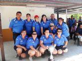 El equipo femenino del Club de Petanca Puerto de Mazarr�n se alza campe�n de la Regi�n de Murcia